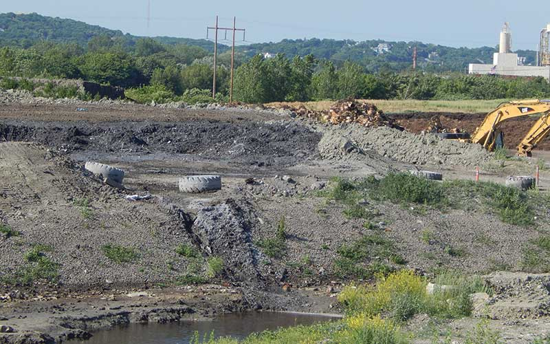 Landfill in Saugus, MA